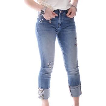 Textil Mulher Calças de ganga slim Fracomina FR20SPJGAIA1 Azul