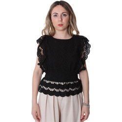Textil Mulher Tops / Blusas Fracomina FR20SP586 Preto