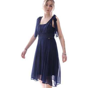 Textil Mulher Vestidos curtos Fracomina FR20SP599 Azul