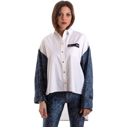 Textil Mulher camisas Versace B0HVB606S0683904 Branco