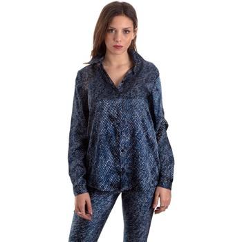 Textil Mulher camisas Versace B0HVB601S0683904 Azul