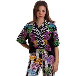 Textil Mulher camisas Versace B0HVB604S0793983 Preto