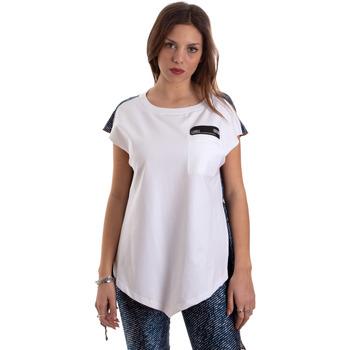 Textil Mulher T-Shirt mangas curtas Versace D3HVB657S0683904 Branco
