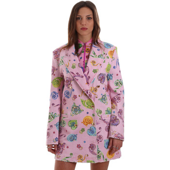 Textil Mulher Casacos/Blazers Versace C2HVB507SN75SK69 Rosa