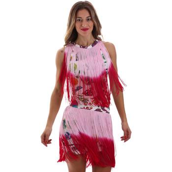 Textil Mulher Vestidos curtos Versace D2HVB406S0777K67 Branco