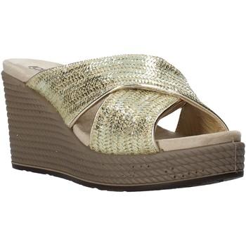Sapatos Mulher Chinelos IgI&CO 5180755 Ouro