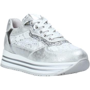 Sapatos Rapariga Sapatilhas NeroGiardini E031460F Prata