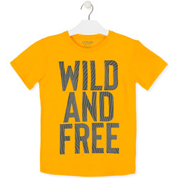 Textil Criança T-Shirt mangas curtas Losan 013-1018AL Amarelo