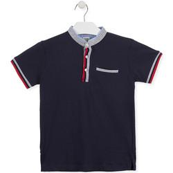 Textil Rapaz Polos mangas curta Losan 013-1791AL Azul
