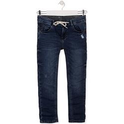 Textil Criança Calças de ganga slim Losan 013-6021AL Azul