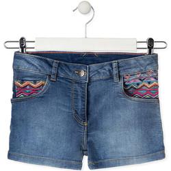 Textil Criança Shorts / Bermudas Losan 014-6010AL Azul