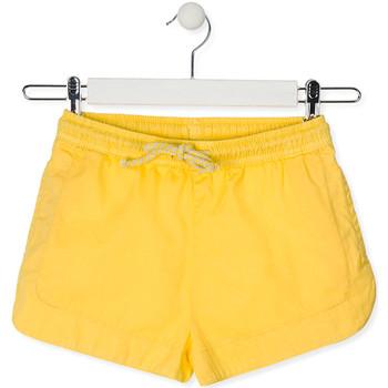 Textil Criança Shorts / Bermudas Losan 014-9007AL Amarelo