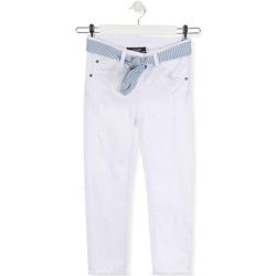 Textil Criança Calças de ganga slim Losan 014-9011AL Branco