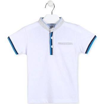 Textil Rapaz Polos mangas curta Losan 015-1791AL Branco