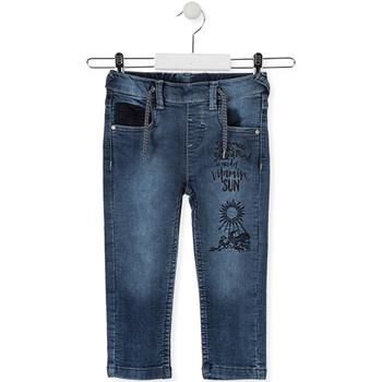 Textil Criança Calças de ganga slim Losan 015-6023AL Azul