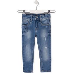 Textil Criança Calças de ganga slim Losan 015-9008AL Azul