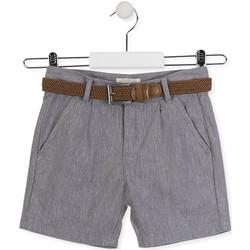Textil Criança Shorts / Bermudas Losan 015-9790AL Cinzento