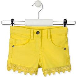 Textil Criança Shorts / Bermudas Losan 016-9001AL Amarelo