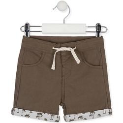 Textil Criança Shorts / Bermudas Losan 017-9008AL Verde