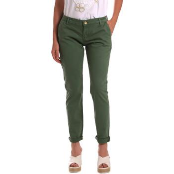 Textil Mulher Chinos Gaudi 811BD25009 Verde