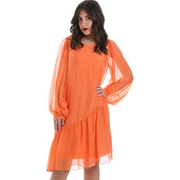 Textil Mulher Vestidos curtos Gaudi 011BD15035 Laranja