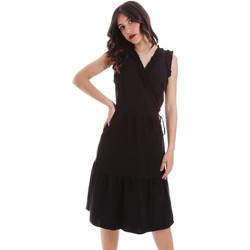 Textil Mulher Vestidos curtos Gaudi 011BD15037 Preto