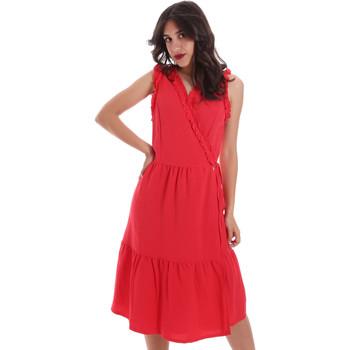 Textil Mulher Vestidos curtos Gaudi 011BD15037 Vermelho