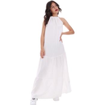 Textil Mulher Vestidos compridos Gaudi 011FD15073 Branco