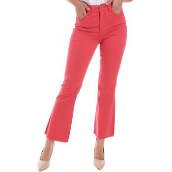 Textil Mulher Calças de ganga bootcut Gaudi 011BD25017 Vermelho