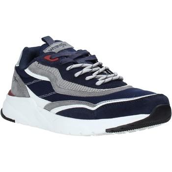 Sapatos Homem Sapatilhas Wrangler WM01111A Azul