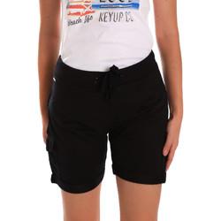 Textil Mulher Shorts / Bermudas Key Up 5G75F 0001 Preto