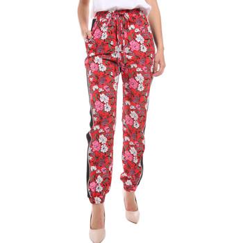 Textil Mulher Calças finas / Sarouels Gaudi 011BD25032 Vermelho