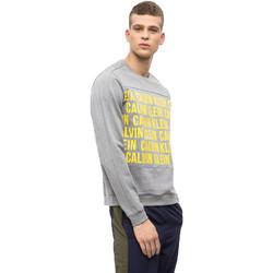 Textil Homem Sweats Calvin Klein Jeans 00GMF8W320 Cinzento