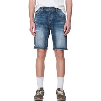 Textil Homem Shorts / Bermudas Antony Morato MMDS00068 FA700115 Azul