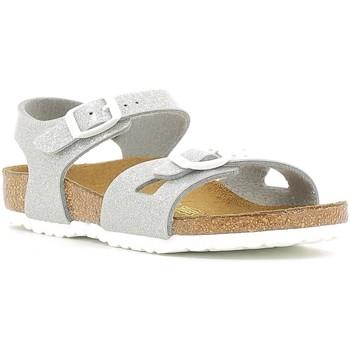 Sapatos Criança Sandálias Birkenstock 831783 Prata