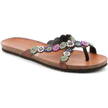 Sapatos Mulher Chinelos Grunland CB2502 Castanho