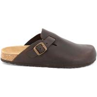 Sapatos Homem Tamancos Grunland CB7034 Castanho