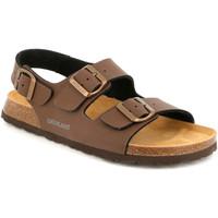 Sapatos Homem Sandálias Grunland SB3645 Castanho