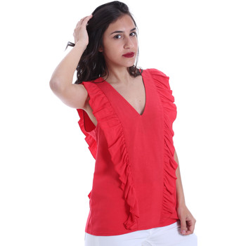 Textil Mulher Tops / Blusas Gaudi 011BD45031 Vermelho