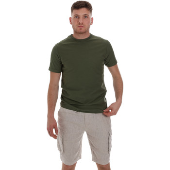 Textil Homem T-Shirt mangas curtas Sseinse ME1548SS Verde