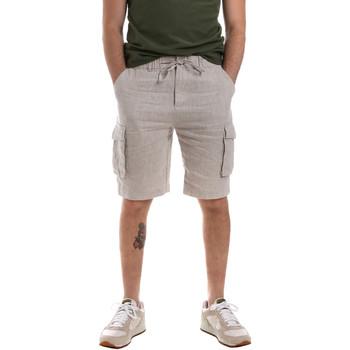 Textil Homem Shorts / Bermudas Sseinse PB591SS Bege