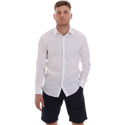 Textil Homem Camisas mangas comprida Sseinse CE506SS Branco