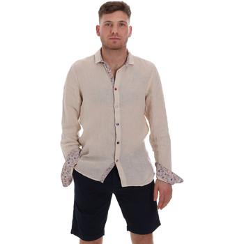 Textil Homem Camisas mangas comprida Sseinse CE538SS Bege