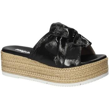Sapatos Mulher Chinelos Pregunta IL02402-CL Preto