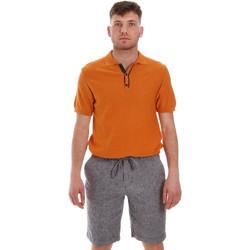 Textil Homem Polos mangas curta Sseinse ME1528SS Laranja