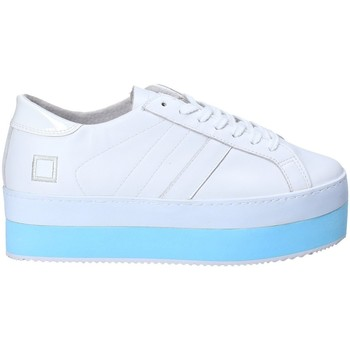 Sapatos Mulher Sapatilhas Date W281-MO-LE-WH Branco