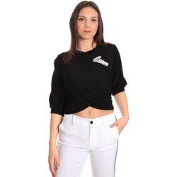 Textil Mulher Tops / Blusas Denny Rose 811DD50011 Preto