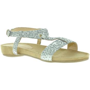 Sapatos Mulher Sandálias Mally 4681 Prata