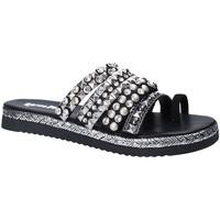 Sapatos Mulher Chinelos Gold&gold A18 ES286 Preto