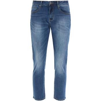 Textil Mulher Calças de ganga slim Gaudi 811BD26002 Azul